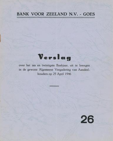 Bank voor Zeeland 1945