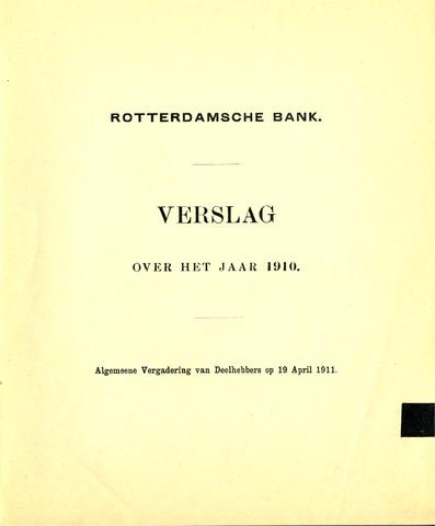 Rotterdamsche Bank 1910