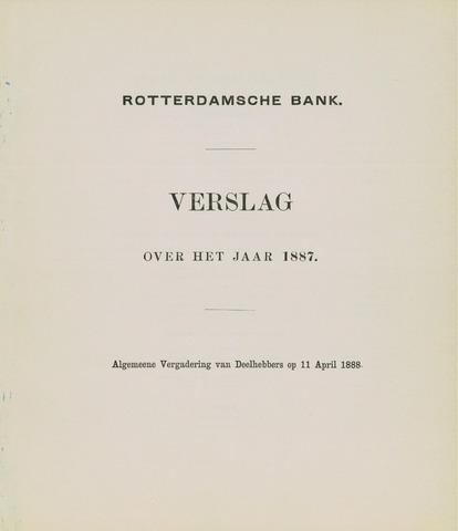 Rotterdamsche Bank 1887