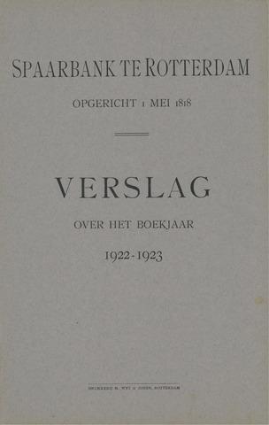 Spaarbank te Rotterdam 1922