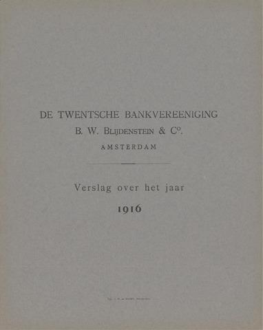 Twentsche Bank 1916
