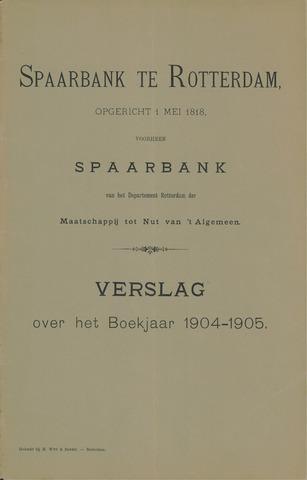 Spaarbank te Rotterdam 1904