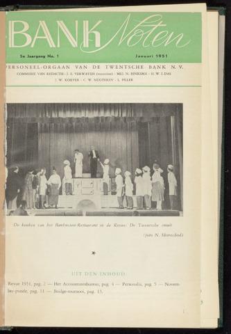 De Twentsche Bank - Banknoten 1951