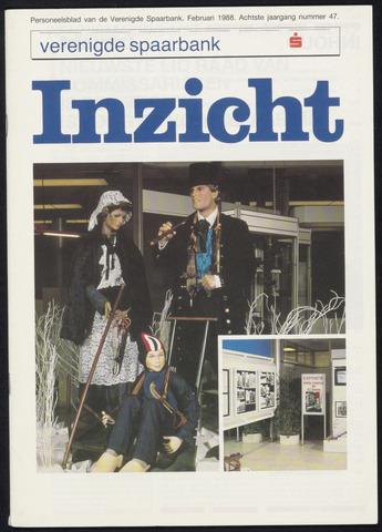 Verenigde Spaarbank - InZicht 1988