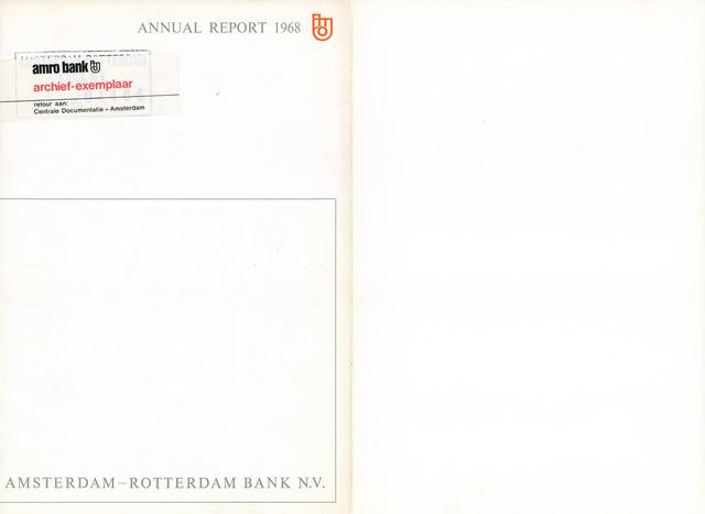 Amro Bank 1968