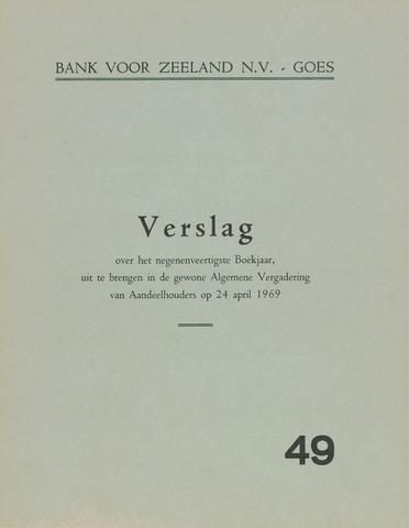 Bank voor Zeeland 1968