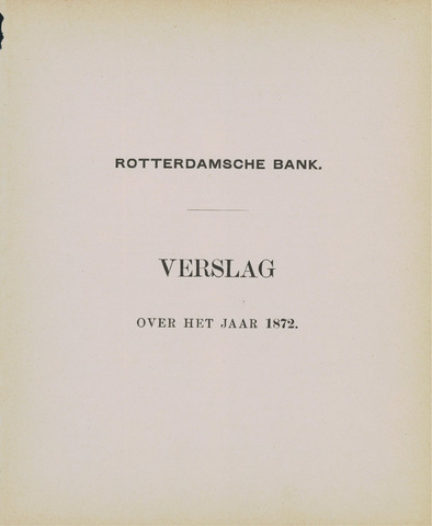 Rotterdamsche Bank 1872