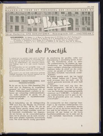 Incasso-Bank - De Bank 1940
