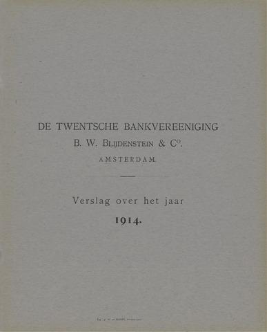 Twentsche Bank 1914