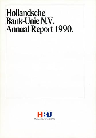 Hollandsche Bank-Unie 1990