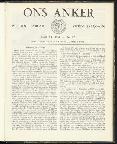 Nederlandsche Handel-Maatschappij - Ons Anker 1950