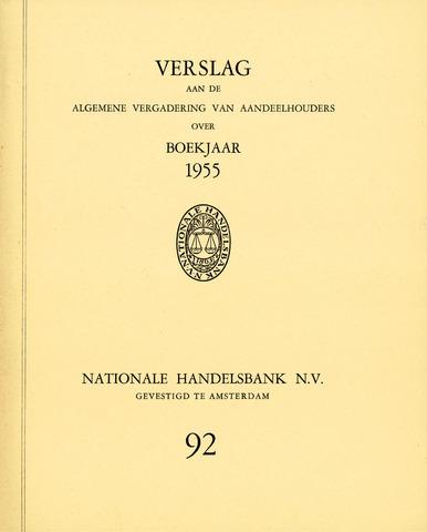 Nationale Handelsbank 1955