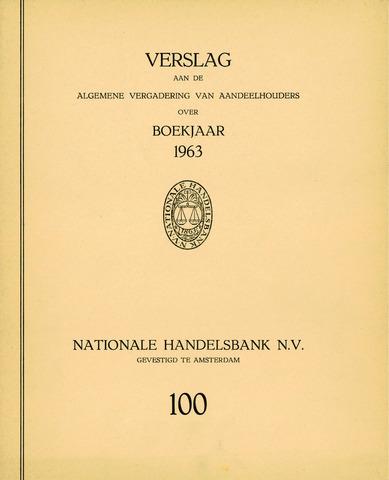 Nationale Handelsbank 1963