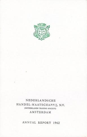 Nederlandsche Handel-Maatschappij 1962