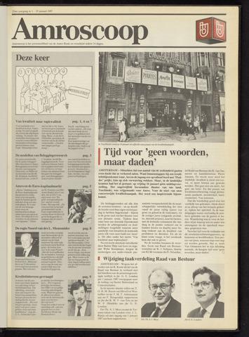 Amro Bank - Amroscoop 1987
