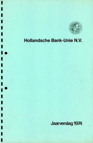 Hollandsche Bank-Unie 1974