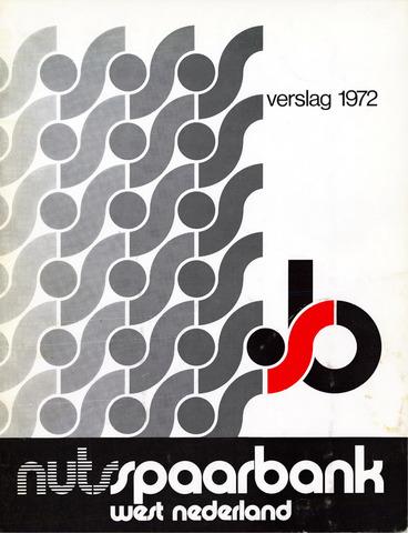 Nutsspaarbank West Nederland 1972