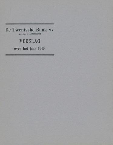 Twentsche Bank 1940