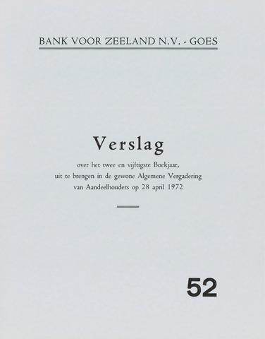 Bank voor Zeeland 1971