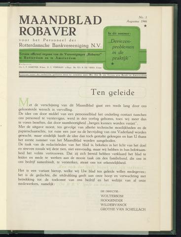 Rotterdamsche Bank - Robaver 1946