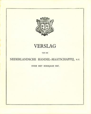 Nederlandsche Handel-Maatschappij 1947
