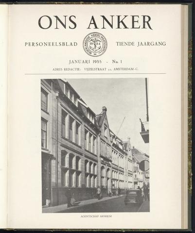 Nederlandsche Handel-Maatschappij - Ons Anker 1955