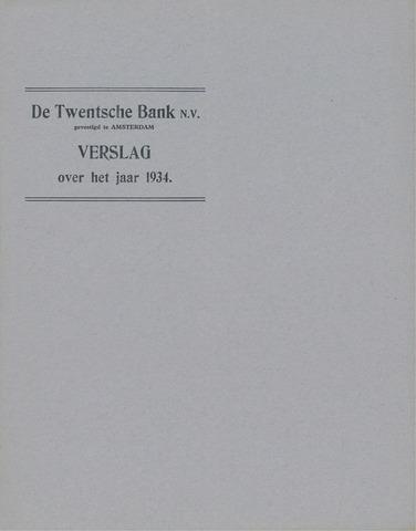 Twentsche Bank 1934