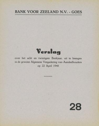 Bank voor Zeeland 1947