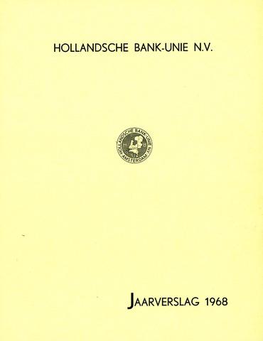 Hollandsche Bank-Unie 1968