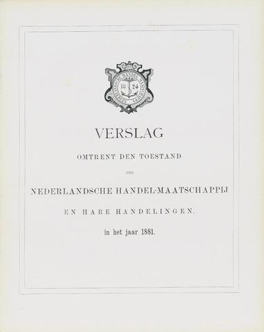 Nederlandsche Handel-Maatschappij 1881