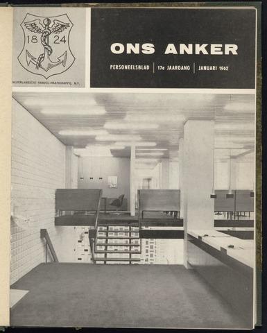 Nederlandsche Handel-Maatschappij - Ons Anker 1962