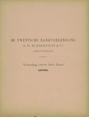 Twentsche Bank 1898