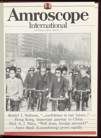 Amro Bank - Amroscoop International 1989