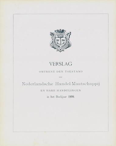 Nederlandsche Handel-Maatschappij 1898