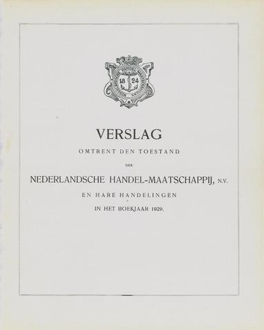 Nederlandsche Handel-Maatschappij 1929