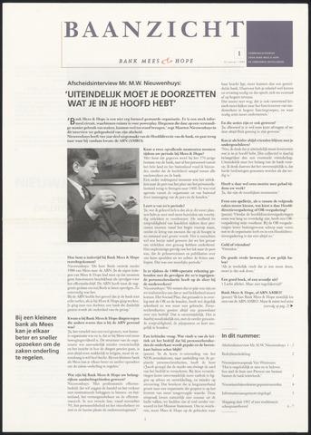 Bank Mees & Hope - Baanzicht 1993