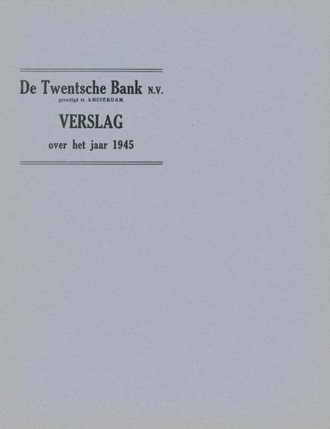 Twentsche Bank 1945