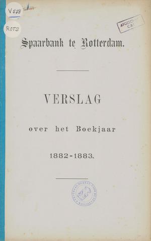 Spaarbank te Rotterdam 1882