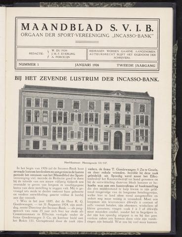 Incasso-Bank - Maandblad SVIB 1926