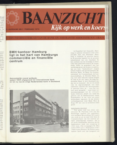 Bank Mees & Hope - Baanzicht 1970