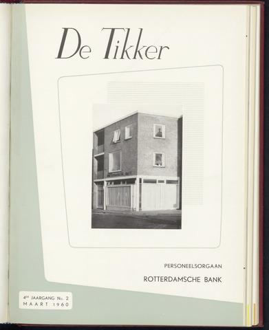 Rotterdamsche Bank - De Tikker 1960