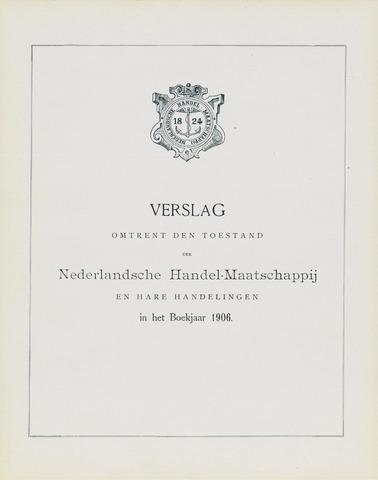 Nederlandsche Handel-Maatschappij 1906