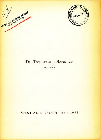 Twentsche Bank 1955