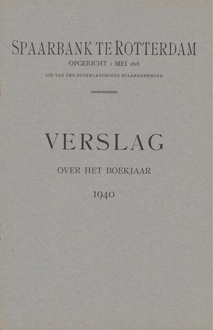 Spaarbank te Rotterdam 1940