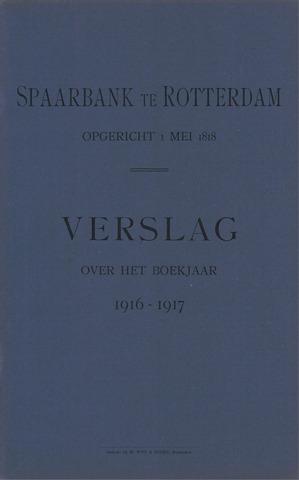 Spaarbank te Rotterdam 1916