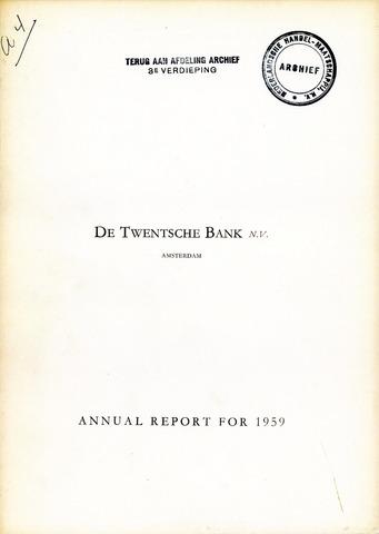 Twentsche Bank 1959