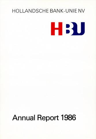 Hollandsche Bank-Unie 1986