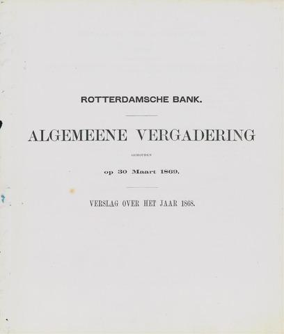 Rotterdamsche Bank 1868