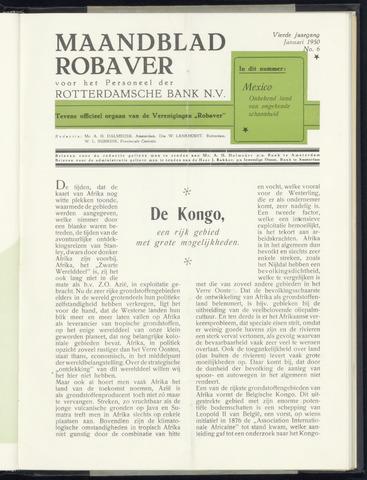 Rotterdamsche Bank - Robaver 1950