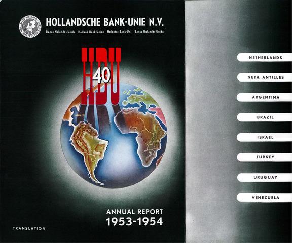 Hollandsche Bank-Unie 1953